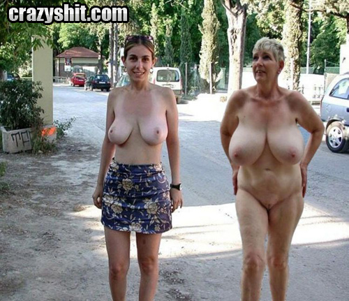 Big Tits Redhead Neighbor