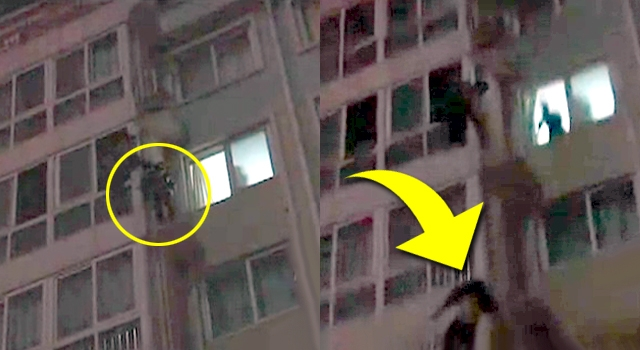 SUICIDE JUMP RESCUE GOES AS BAD AS IT COULD GO