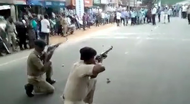 INDIA DOESN'T FUCK AROUND WHEN IT COMES TO PROTESTORS