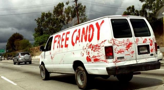 Ouch's van