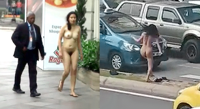 IT'S BEEN A VERY STRANGE WEEK FOR PUBLIC NUDITY