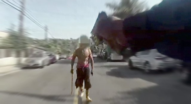 RAW FOOTAGE OF THAT CHAIN ATTACK IN SAN DIEGO