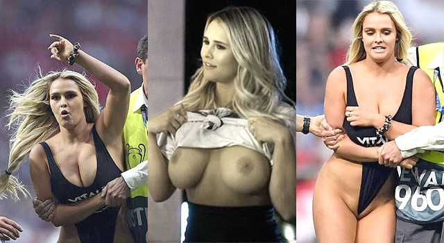 "HERE'S MORE OF THE CHAMPIONS LEAGUE FINAL ""STREAKER"""