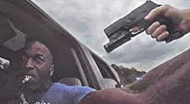 REASON #210 NOT TO REACH FOR A COP'S GUN