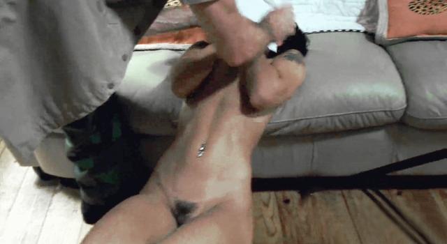 DESTROYING A 95LB GIRL